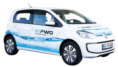 Fernwasserversorgung Oberfranken Elektroauto Anfahrt