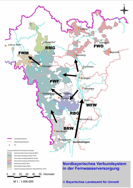 Fernwasserversorgung Oberfranken Verbund