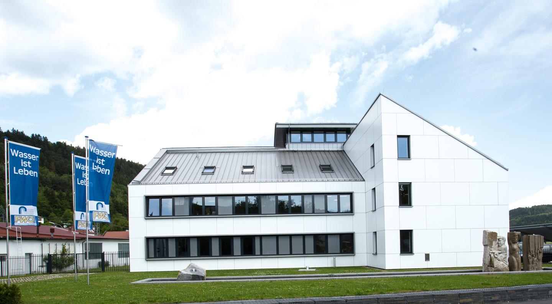 Verwaltungsgebäude der Fernwasserversorgung Oberfranken in Kronach