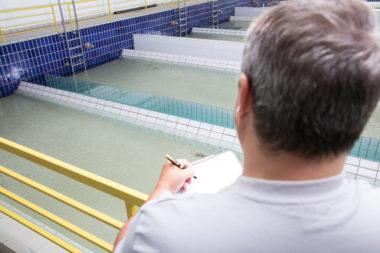 Ködeltalsperre Trinkwasser-Aufbereitung Fernwasserversorgung Oberfranken