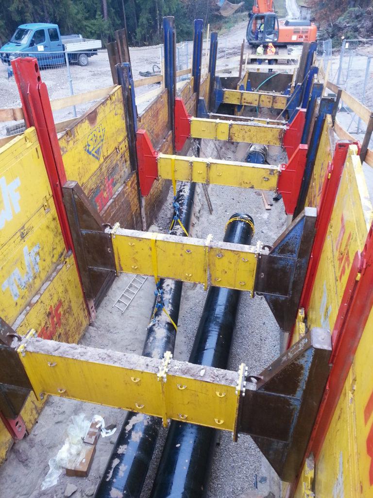 Fernwasserversorgung Oberfranken Rohreinbau Wasserversorgung Trinkwasserversorgung