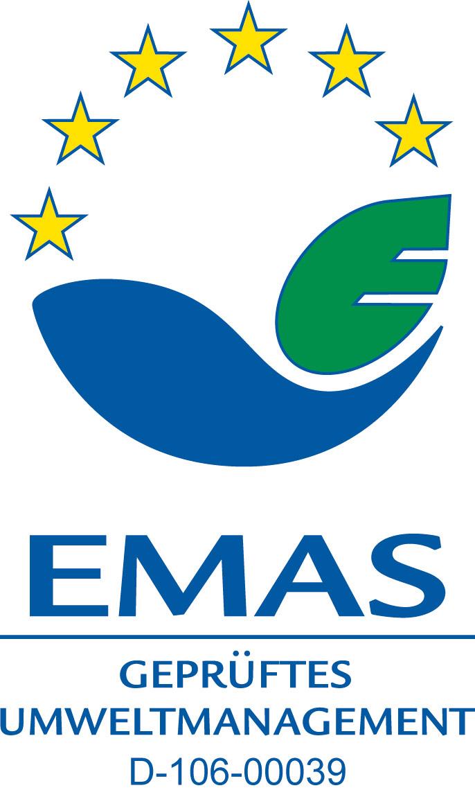 EMAS Zertifikat Umweltmanagement Fernwasserversorgung Oberfranken Trinkwasserversorgung
